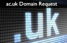 .ac.uk Domain Request Form