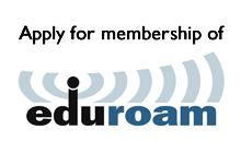 Application for Membership of eduroam(UK)