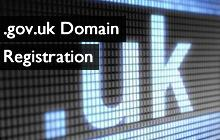 gov.uk Domain Registration