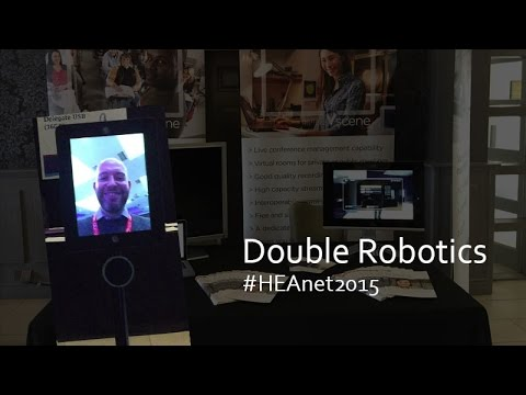 Telepresence Robot at #HEAnet2015