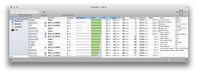 Wi-Fi Network applications for Apple Mac OS X | Jisc community